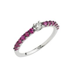 veretta rubini e diamante bianco namuri