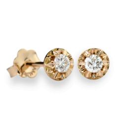 Orecchini puntoluce oro rosa Collezione Milleluci Namuri Diamanti:0.10 Ct. Diamanti: 0.20 Ct. Diamanti: 0.30 Ct.