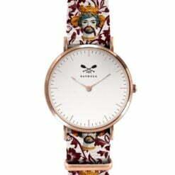 orologio cassa rosè testa di Moro Barbosa