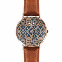 orologio ricamo maiolica Barbosa