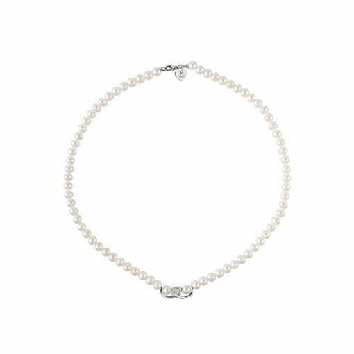 collana perle e diamanti Bliss