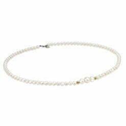 collana perle oro giallo Bliss