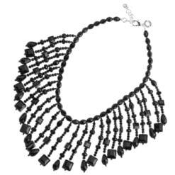 collana cristalli neri Ottaviani