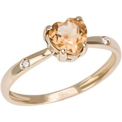 anello love cuore Bliss