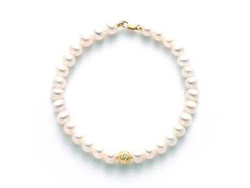 bracciale-perle-oro-giallo-Miluna