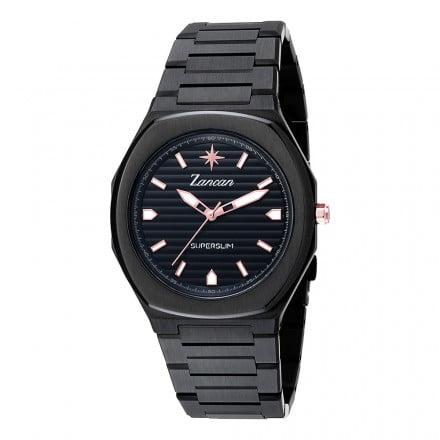 orologio superslim nero Zancan