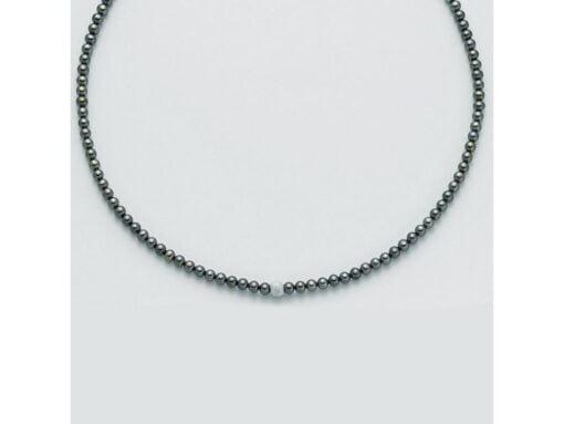 collana perle nere Yukiko