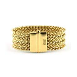 Bracciale in bronzo dorato Unoaerre