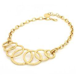 collana catena forzatina in bronzo