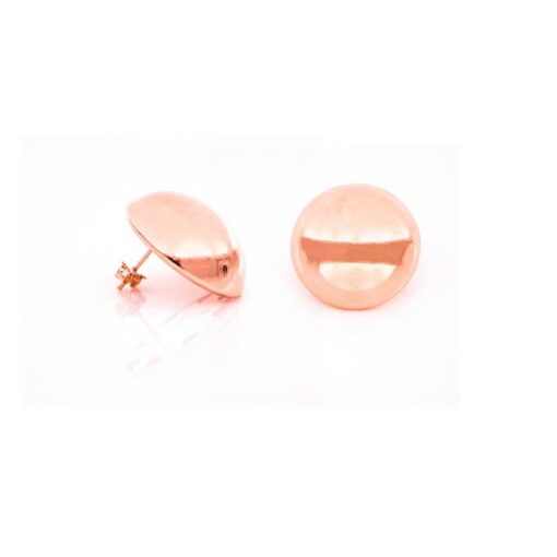 orecchini in bronzo rosè