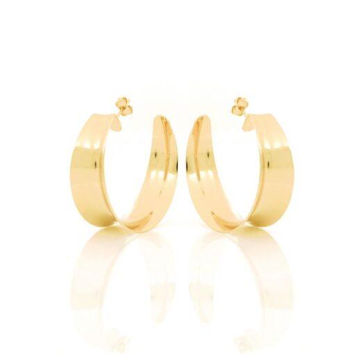 orecchini in bronzo dorato Unoaerre
