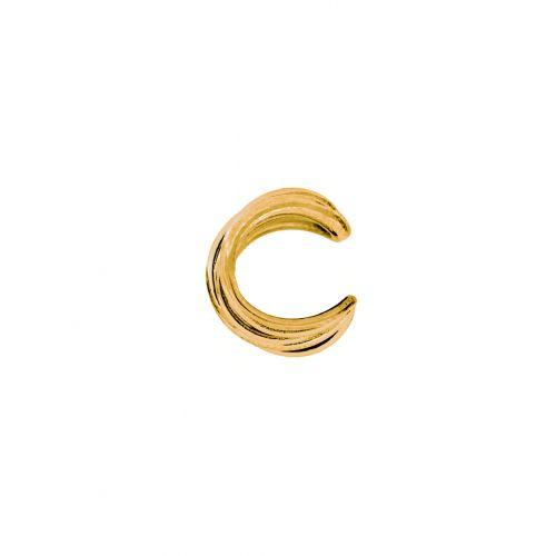 orecchino ear cuff dorato Unoaerre