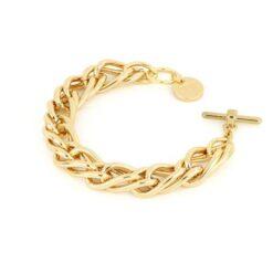 bracciale bronzo dorato Unoaerre