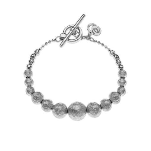 bracciale sfere argento Eclat