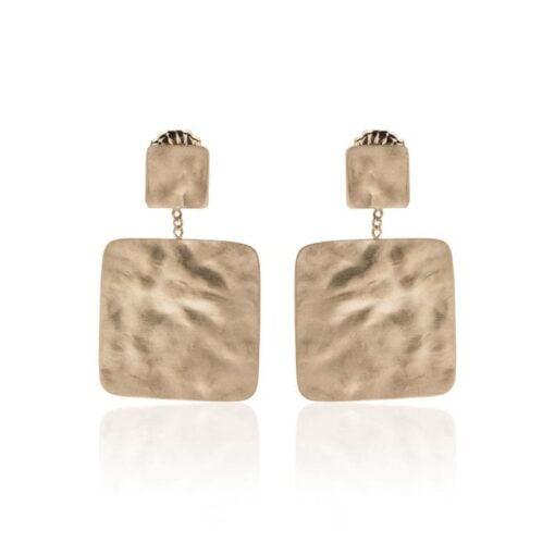 orecchini pendenti quadrati Eclat