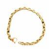 Bracciale a catena piccola in oro rosa 18kt linea De Stefano gioielli
