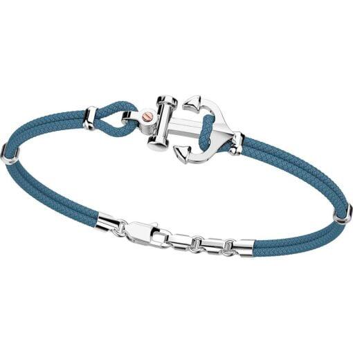bracciale argento con àncora Zancan