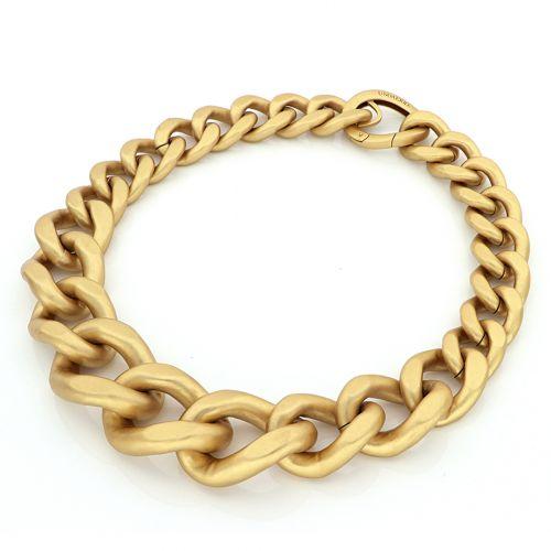 collana in bronzo satinata Unoaerre