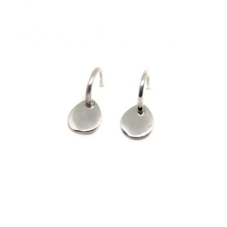 orecchini argento cerchio Cuori & Frecce