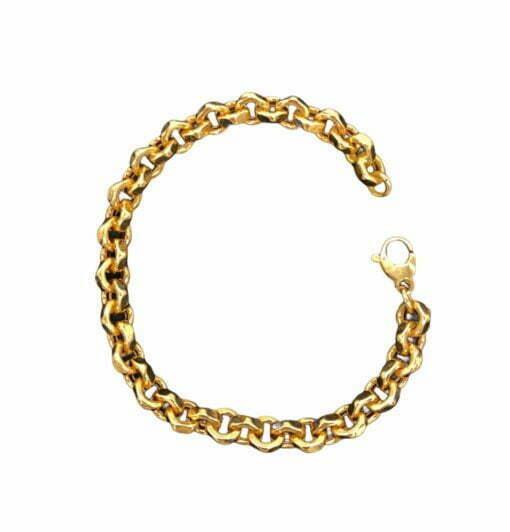 Bracciale a catena in oro rosa