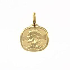 ciondolo Cristo oro giallo