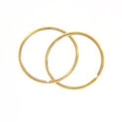 orecchini cerchio in oro