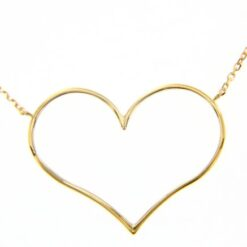 collana cuore in oro