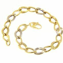 bracciale donna catena oro