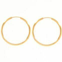 orecchino cerchio in oro