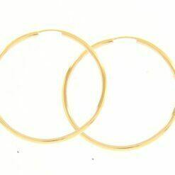 orecchini cerchio medio oro