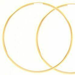 orecchini cerchio oro giallo