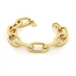 bracciale bronzo dorato