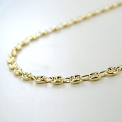 collana uomo maglia marinara oro