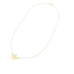 collana stella oro giallo De Stefano